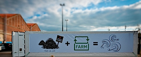 Permaculture urbaine, une champignonière urbaine