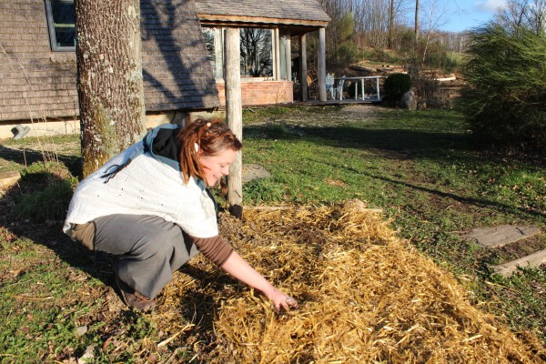 Woofing permaculture