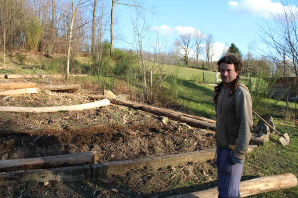 Woofing permaculture 2