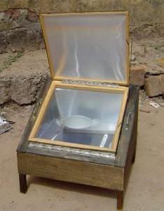 Four solaire autoconstruit