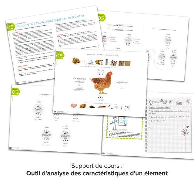 Support de cours PDF de l'outil d'analyse des caractéristiques d'un éléments.