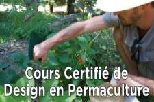 Cours certifié de Design en Permaculture-COMPLET