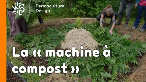 Notre machine à compost est une technique de compostage simple et efficace