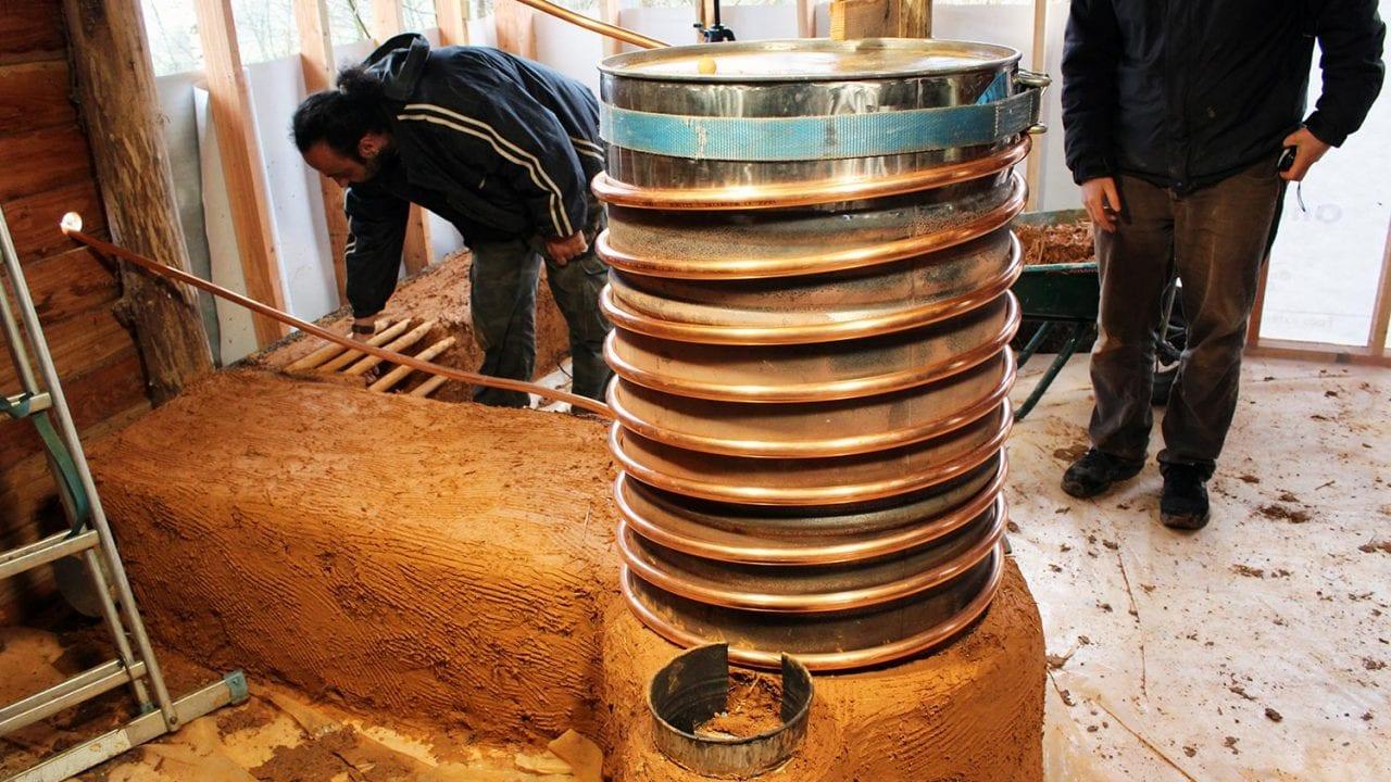 Le rocket stove un poele de masse g nial et pas cher - Petrole pour poele pas cher ...