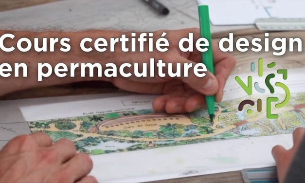 Video cours certifié de design en permaculture
