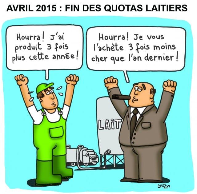 Les quotas laitiers vu par Stéphane Bouzon
