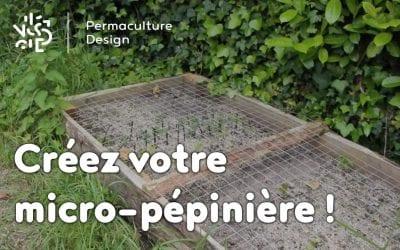 Créez votre micro-pépinière !