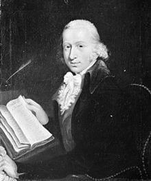 Portrait de Lavoisier inventeur de la chimie moderne à qui ont doit la découverte de l'azote