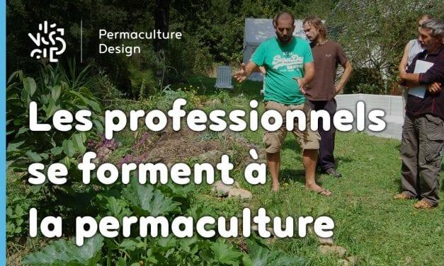 Des professionnels du monde agricole se forment à la permaculture!