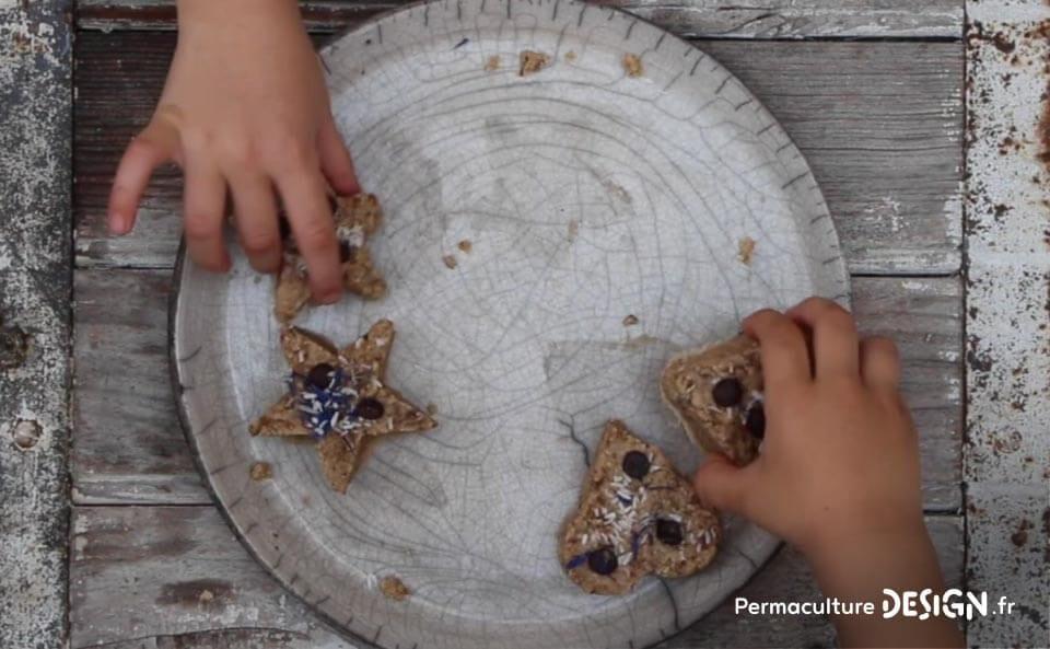 Une recette de cookies crus faciles à réaliser pour des pauses gourmandes saines et équilibrées.