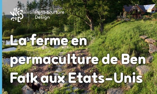 La ferme en permaculture de Ben Falk à Moretown dans le Vermont, Etats-Unis