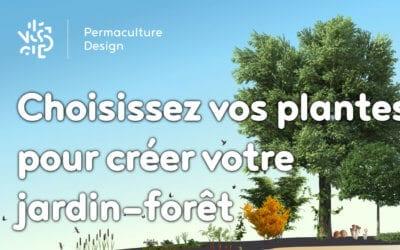 Choisissez vos plantes pour créer votre jardin-forêt
