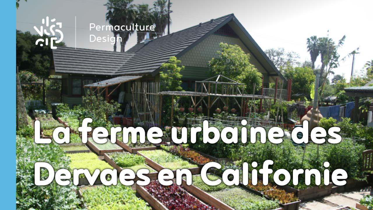 La ferme urbaine de la famille Dervaes à Pasadena, Californie