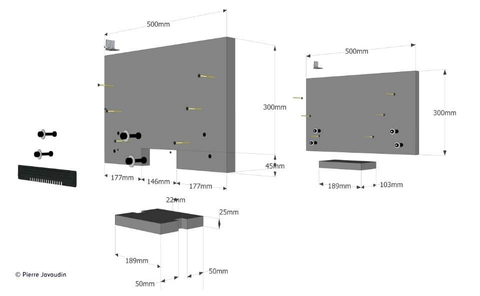 fabriquer une ruche horizontale avec des mat riaux de bricolage simples garwinch. Black Bedroom Furniture Sets. Home Design Ideas