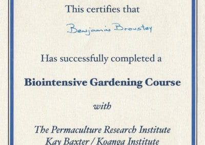 BB_Certificat Biointensive Gardening course