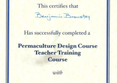 BB_Certificat PDC teacher training course