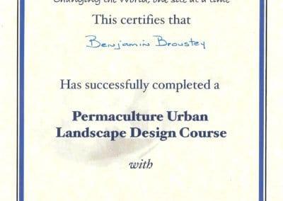 BB_Certificat Urban landscape Design Course