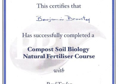 BB_Certificat compost soil Biology natural fertiliser Course