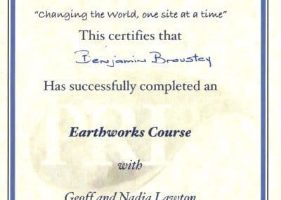 BB_Certificat earthwork course