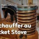 Le rocket-stove : un poele de masse génial et pas cher…
