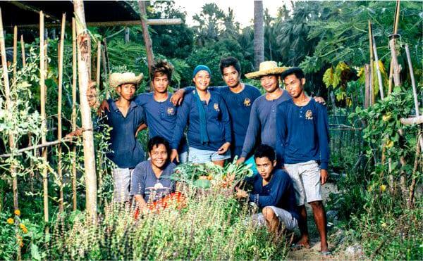 Le développement de la ferme Tao, basé sur les principes de permaculture a permis à toute une communauté d'être plus autonome et résiliente.