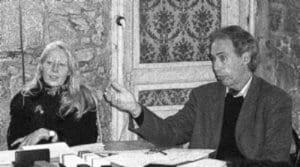 Portrait de Bernard Fischesser et Marie-France Dupuis-Tate, co-auteurs du livre Le Guide illustré de l'écologie paru aux Éditions de La Martinière.
