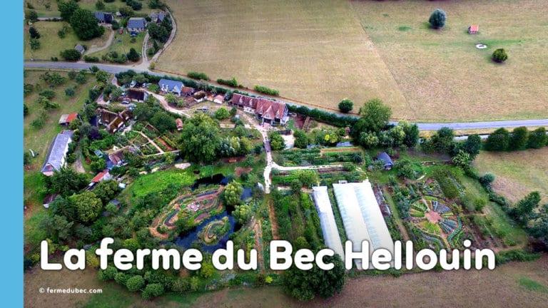 La ferme du Bec Hellouin a été conçue par Perrine et Charles Hervé-Gruyer grâce aux principes de permaculture et la méthodologie de design.