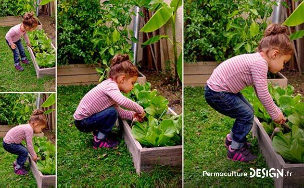 Conseils et idées ludiques pour faire découvrir la permaculture aux enfants et resserrer leur lien avec la nature tout en développant leur imagination et leur créativité !!