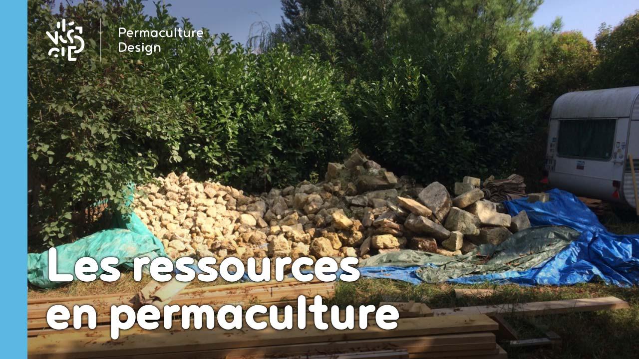 Les ressources et leur recyclage en permaculture