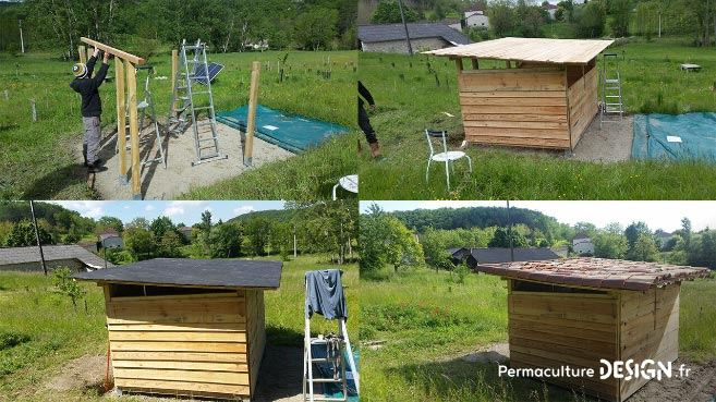 Point sur la troisième année d'évolution du jardin-forêt comestible en permaculture créé dans le cadre du projet collectif TERA.