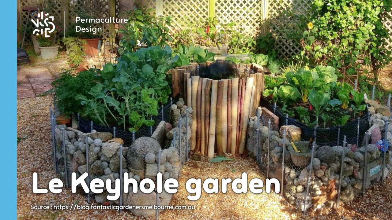 Comment Faire Un Beau Jardin keyhole garden ou jardin en trou de serrure