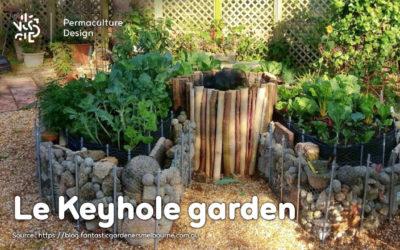 Keyhole garden ou jardin en trou de serrure