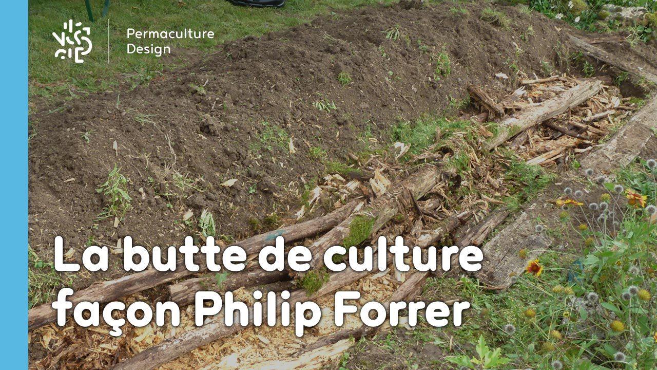 La butte Philip Forrer : une technique atypique