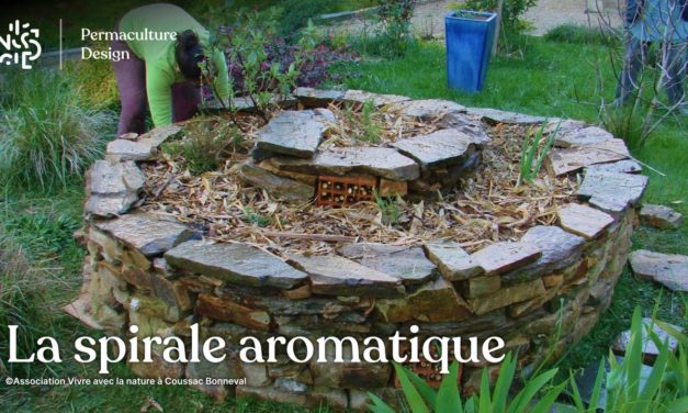 La spirale aromatique en permaculture