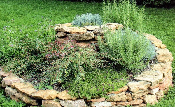 La spirale aromatique en permaculture est un genre de butte s'inspirant d'un modèle naturel très efficace pour créer, sur un espace restreint, plusieurs microclimats différents permettant l'installation de plantes aromatiques et médicinales très variées.