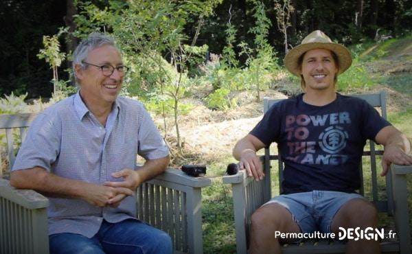 Vidéo sur l'aménagement d'un jardin en permaculture, un jardin à la fois anti-crise, partage et santé !